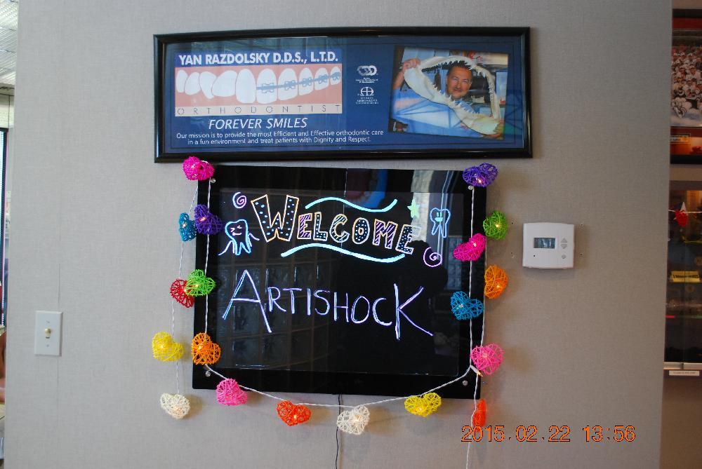 Artishock Exhibit Debuts March 24