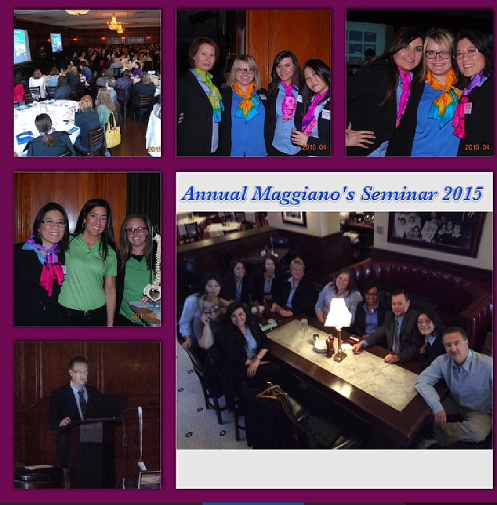 Maggiano's Orthodontic Seminar A Success